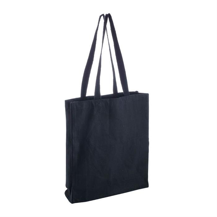 Black Canvas Reusable Bag