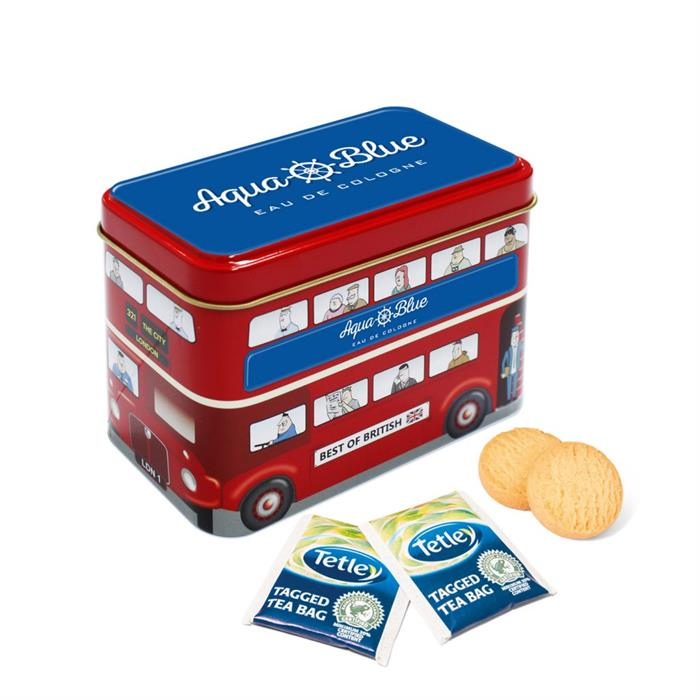 Bus Tin - Tea and Biscuits