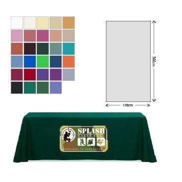 Exhibition Fabric Table Cloth 178 x 366cm