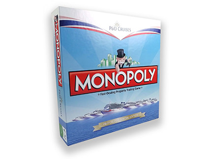 PO Cruises Monopoly Box
