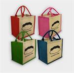 Brighton Coloured Jute Bag